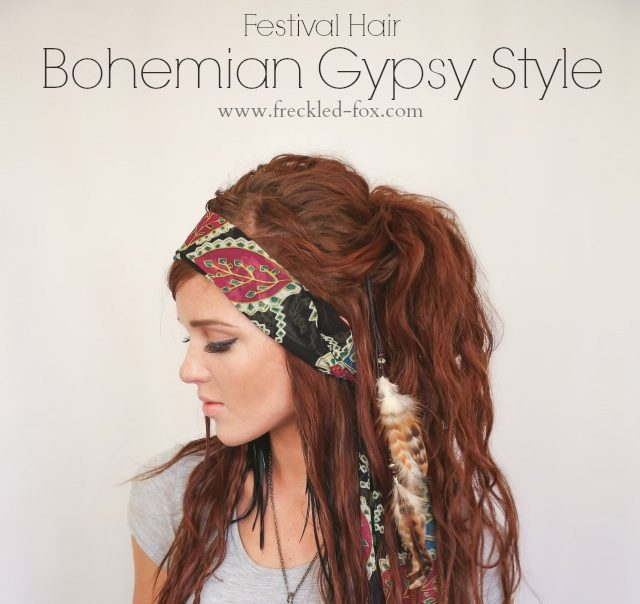 BOHEMIAN HAIRSTYLES IDEAS