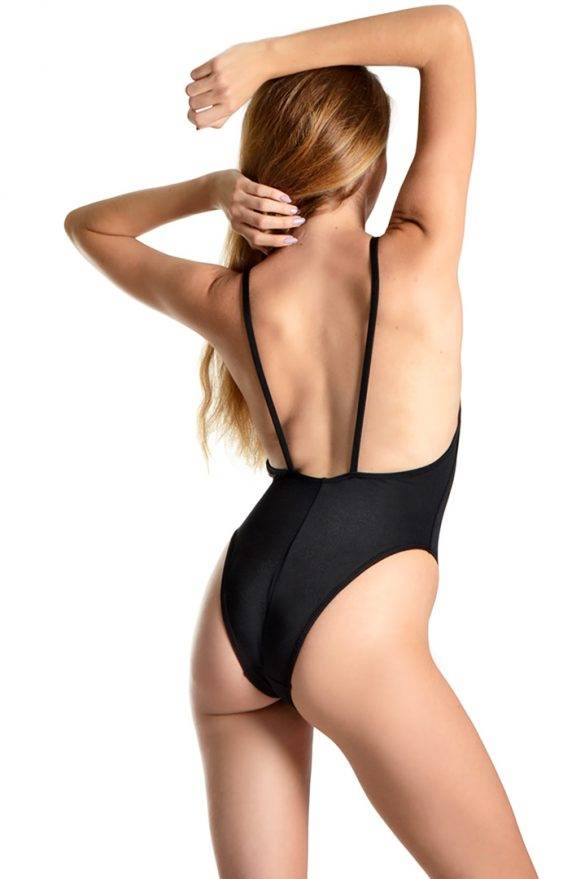 bora black swimwear