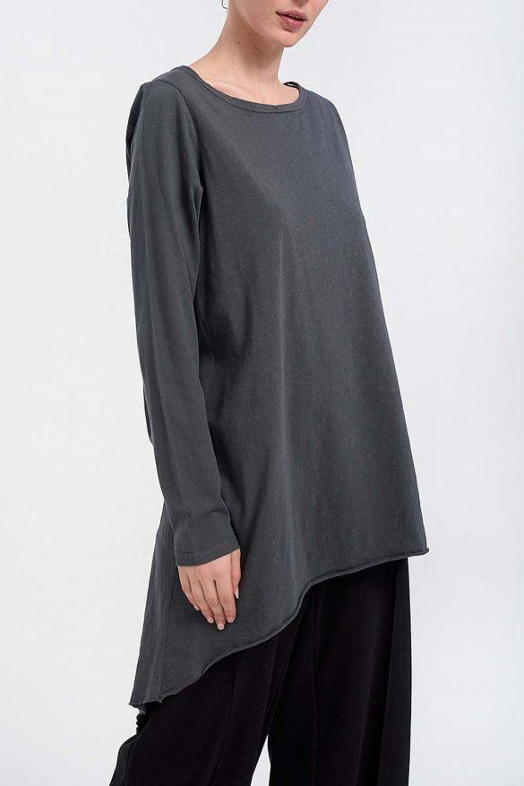 Long Blouse in Gray