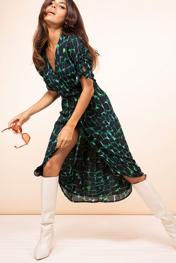 dancing leopard dress